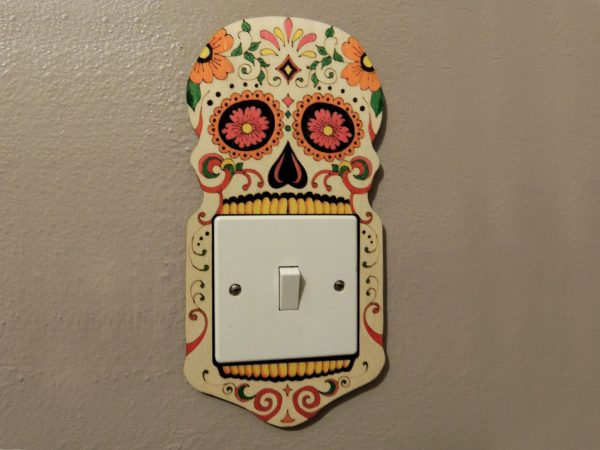 Candy Skull Light Switch Surround