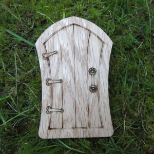 Bowed Oak Fairy Door
