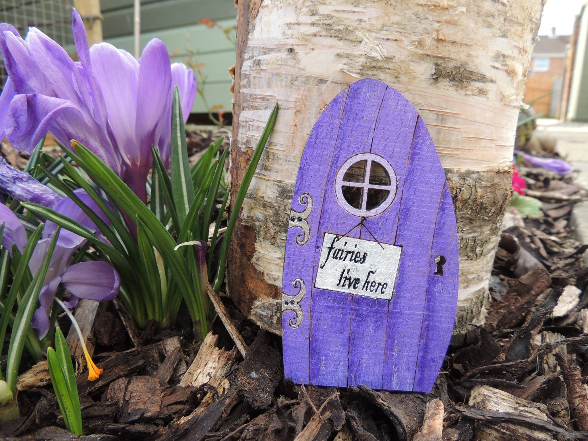 How To Paint A Fairy Door